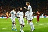 """Čempionų lyga: PSG sutriuškino """"Brugge"""", o T.Kroosas pelnė pergalingą įvartį 100-osiose rungtynėse"""