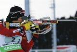 Europos biatlono taurės varžybose lietuviai šaudė netaikliai