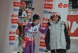 """Biatlonininkė D.Rasimovičiūtė apie sportinę formą: """"Nerimo tikrai yra"""""""