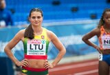 A.Šerkšnienė pagerino asmeninį sezono rekordą, bet nepavijo ispanės