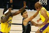 """Serbų vedama """"Kings"""" susitvarkė su """"Lakers"""""""