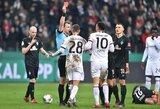 """Vietą Vokietijos taurės pusfinalyje užsitikrino """"Eintracht"""" ir """"Bayer"""""""
