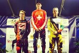 G.Pabijanskas Europos BMX dviračų taurės etape Prancūzijoje lipo ant podiumo