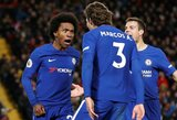 """Fantastiškas Williano įvartis išplėšė """"Chelsea"""" lygiąsias prieš """"Liverpool"""""""