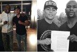 Tragedija JAV: nušautas F.Mayweatherį sužavėjęs bokso talentas