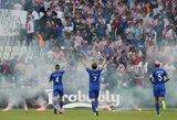 Sužinokite: kodėl Kroatijos fanai sugadino savo rinktinės rungtynes?
