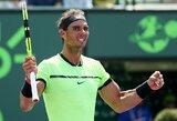 Pirmojo titulo Majamyje siekiantis R.Nadalis penktą kartą pateko į finalą