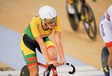 O.Baleišytė Europos jaunių ir jaunimo dviračių treko čempionate – aštunta, A.Gedraitytė griuvo