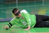 Lietuvos golbolo rinktinė sunkia pergale pradėjo pasaulio čempionatą