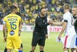 "Rungtynėms su ""Maccabi"" teisėjaus norvegai"