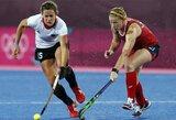Londone startavo olimpinis moterų žolės riedulio turnyras