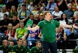 """D.Adomaitis: """"Turnyrą Klaipėdoje skyrėme žaidėjams, kurie nėra tikri dėl vietos rinktinėje"""""""