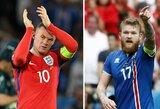 EURO 2016 apžvalga: ar Islandijos treneris pratęs nepralaimėtų rungtynių seriją prieš anglus?