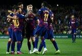 """Atskleista, kiek """"Barcelona"""" praėjusiame sezone išleido milijonų žaidėjų priedams"""