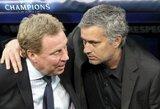 """H.Redknappas: """"J.Mourinho turi pakeisti A.Fergusoną"""""""