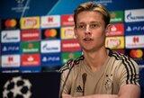 Nusivylęs F.De Jongas teigia, kad VAR technologija padeda tik dideliems klubams