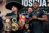 """Su A.Joshua akis į akį susitikęs ir svorio dar priaugęs A.Ruizas: """"Antroji kova turėtų baigtis taip pat"""""""