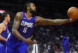 """""""Cavaliers"""" ir """"Clippers"""" buvo susitarę dėl D.Jordano mainų"""