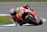 Indianapolio GP lenktynėse ilgai pirmavęs J.Lorenzo neatlaikė M.Marquezo spaudimo