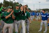 Vilčių neturėjusi Lietuvos beisbolo rinktinė ir antrą kartą pralaimėjo Izraeliui