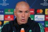 """T.Kroosas negailėjo liaupsių Z.Zidane'ui """"Jis yra geriausias treneris, kurio galėtum paprašyti"""""""