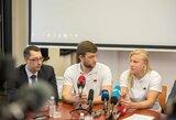 R.Meilutytė baigė darbą su P.Andrijausku ir išvyksta į JAV