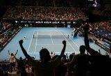 """Melburne skelbiamas karantinas: bent penkias dienas jokių žiūrovų """"Australian Open"""" turnyre"""