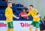 Šiaurės Airijos rinktinę nugalėję lietuviai kovos dėl pirmos vietos grupėje