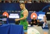 E.Stankevičius minimaliu skirtumu pralaimėjo kovą dėl Europos imtynių čempionato bronzos