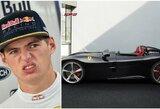 """Įspūdingą """"Ferrari"""" nusipirkęs M.Verstappenas: """"rFactor"""" žaidimas gali užsikrušti"""""""