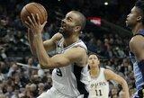 T.Parkeriui – dviejų NBA klubų dėmesys