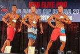 IFBB kultūrizmo ir fitneso varžybose Čekijoje – du lietuvių bronzos medaliai