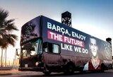 """Pamatykite: """"Ajax"""" pasamdė autobusą Barselonoje, kad padėkotų F.De Jongui"""