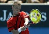 ATP geriausių tenisininkų reitinge R.Berankis krito per 10, o L.Grigelis pakilo per 4 pozicijas