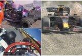 Italijoje – susinervinęs K.Raikkonenas, dvi didelės avarijos, L.Hamiltono triumfas ir pirmas tailandiečio podiumas