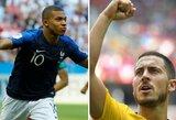 Viskas, ką jums reikia žinoti prieš Prancūzijos ir Belgijos rungtynes