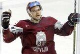 Netikėta šveicarų sėkmė neleido latviams pakartoti geriausio rezultato šalies istorijoje