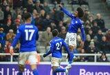 """""""Leicester City"""" įsitvirtino antroje vietoje Anglijoje, """"Tottenham"""" įteikė Naujametinę dovaną konkurentams"""