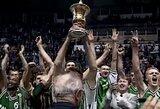 """Lygiai prieš 20 metų – """"Žalgirio"""" triumfas Europos taurių laimėtojų turnyre"""