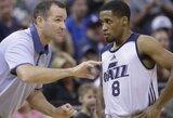 """""""Panathinaikos"""" taikiklyje atsidūrė NBA patirties turintis gynėjas"""