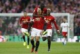 """Patvirtintas Z.Ibrahimovičiaus sugrįžimas į """"Manchester United""""?"""