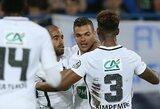PSG neturėjo vargo Prancūzijos taurėje, o H.Ben Arfa apie save priminė puikiais įvarčiais