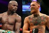 F.Mayweatheris prieš C.McGregorą: kovinio sporto pasaulio žvaigždžių prognozės