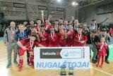 """Lietuvos salės futbolo čempionais tapo Kauno """"Vytis"""""""