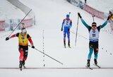 Pasaulio biatlono taurės etape du lyderius skyrė 0.1 sek., M.Fourcade'as nefinišavo