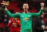 """D.De Gea po iškovotos pergalės prieš """"Tottenham"""": """"Tai yra tikrasis """"Manchester United"""" klubas"""""""
