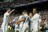 """Drama Madride: teisėjų klaidos, C.Ronaldo """"hat-trickas"""" ir """"Real"""" bilietas į pusfinalį"""
