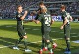 """""""Wolfsburg"""" Vokietijoje neklysta: iškovojo antrą pergalę iš eilės"""
