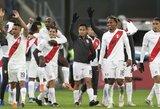 """Čilės futbolininkus sutriuškinusi Peru rinktinė po 44 metų pertraukos varžysis """"Copa America"""" turnyro finale"""