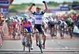 """Trečiąjį """"Eneco Tour"""" dviračių lenktynių etapą A.Kruopis baigė su pagrindine grupe"""